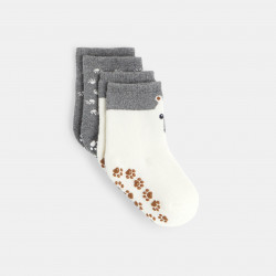 Chaussettes ours anti-glisse